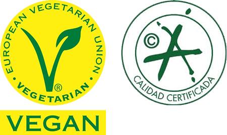 厳格な菜食主義団体 Vegan Society よりヴィ―ガンマークを、スペイン政府品質保証のマークを持った酸度0.1のエクストラバージンオリーブオイル『カスティージョ・デ・タベルナス0.1』