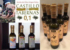 カスティージョ・デ・タベルナス0.1 最高品質の証、酸度0.1のエクストラバージンオリーブオイルです