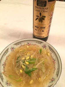 カスティージョ・デ・タベルナス0.1 もやしのスープ オリーブオイルを使ったおすすめレシピ