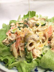 オリーブオイル おすすめ 最高品質 酸度0.1 シーフードサラダ