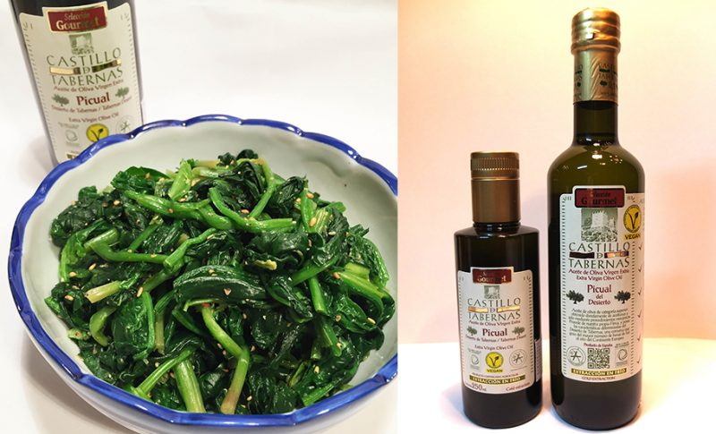 おすすめ 春の喜びをみんなで かき菜のオリーブオイル和えを作ろう