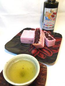 和菓子におすすめ オリーブオイルをかけてみよう