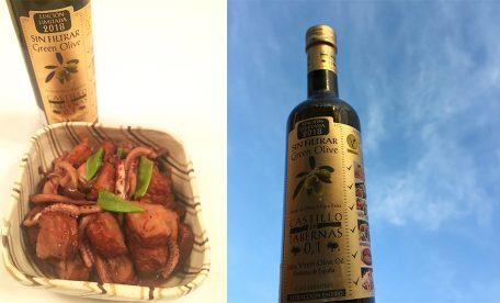 おすすめ酸度0.1のオリーブオイルを使ったさつま揚げとイカの煮物