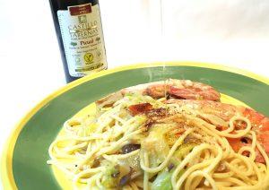 イタリア料理に最高級のオリーブオイルを。カスティージョ・デ・タベルナス 0.1