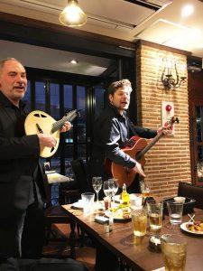 スペイン料理とスペインミュージック