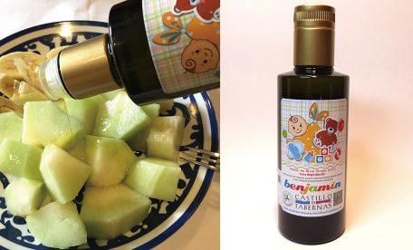 絶品 メロン&バナナの食べ方 ~酸度0.1 オリーブオイルをかけてみよう