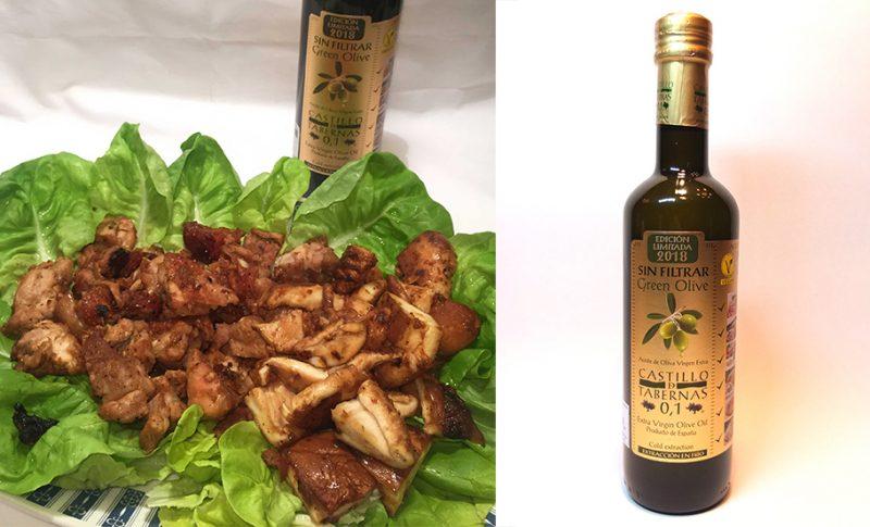 おいしいガーリック料理にはオリーブオイルがぴったり 酸度0.1 エキストラバージンオリーブオイル『カスティージョ・デ・タベルナス0.1』