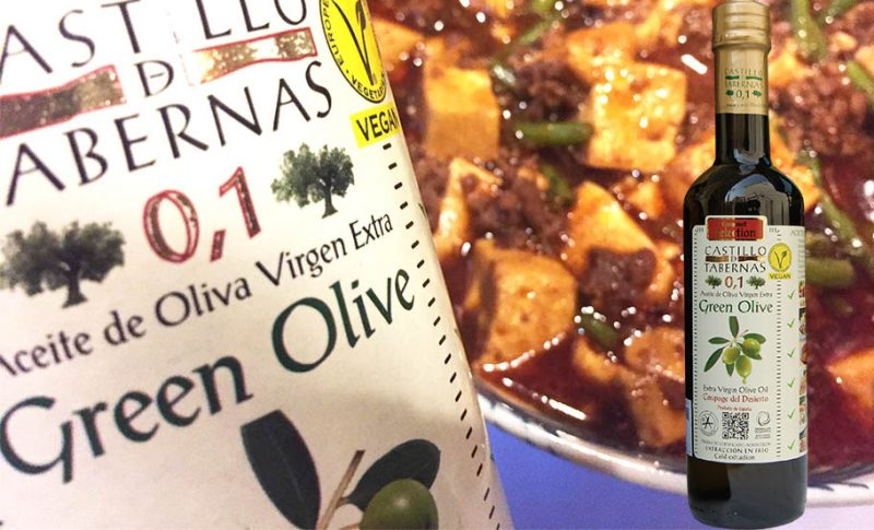 酸度0.1 オリーブオイルを使ったおすすめ料理~暑い日には麻婆豆腐を