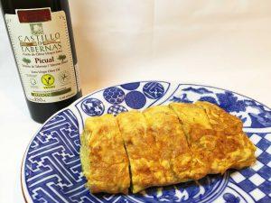 卵焼きをつくる時におすすめ エクストラバージンオリーブオイル 酸度0.1 カスティージョ・デ・タベルナス0.1