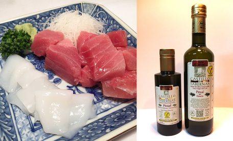 おすすめ 醤油とエクストラバージンオリーブオイルで食べる絶品お刺身