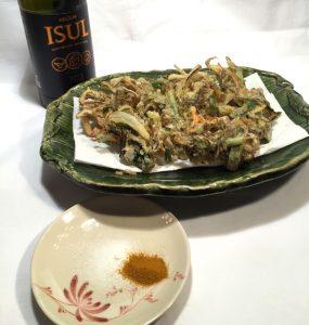 酸度が決めて おいしいエクストラバージンオリーブオイル 和食にぴったり 絶品もずくの天ぷら