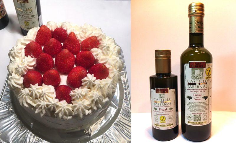 【酸度0.1の奇跡】オリーブオイルでデコレーションケーキを創りました