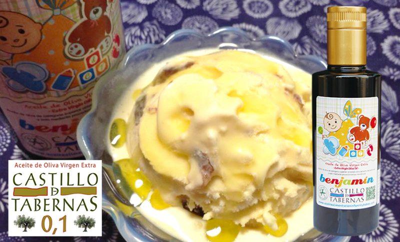アイスクリームにおすすめ!酸度0.1のオリーブオイルをかけて絶品スイーツ