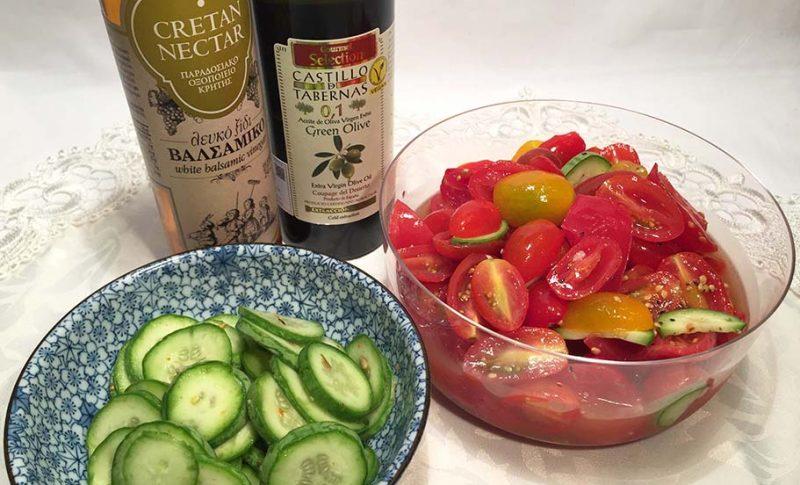 【酸度0.1の奇跡】おすすめのオリーブオイルとバルサミコ酢のおいしい野菜酢の物で夏バテ対策