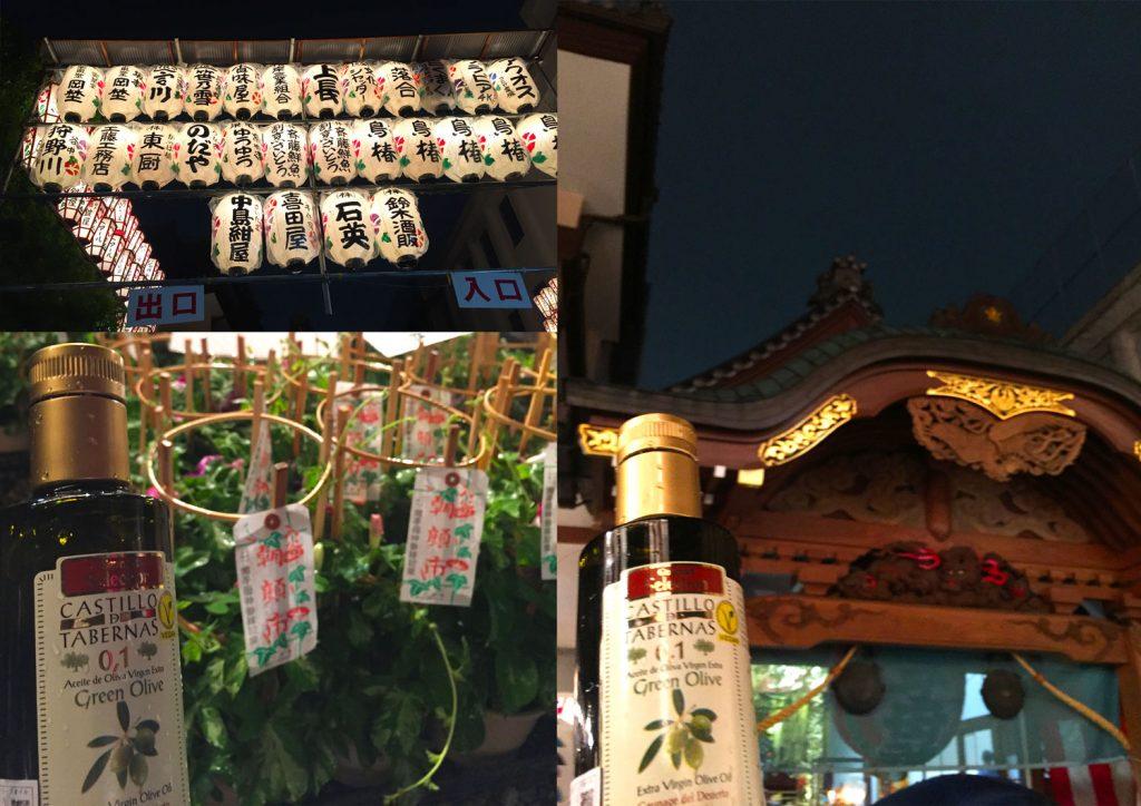 入谷の朝顔祭りに行ってきました。