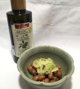 オリーブオイル 納豆