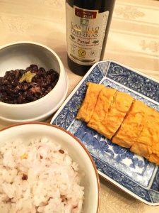 美味しい食べ方、納豆にオリーブオイル。カスティージョ・デ・タベルナス おすすめ