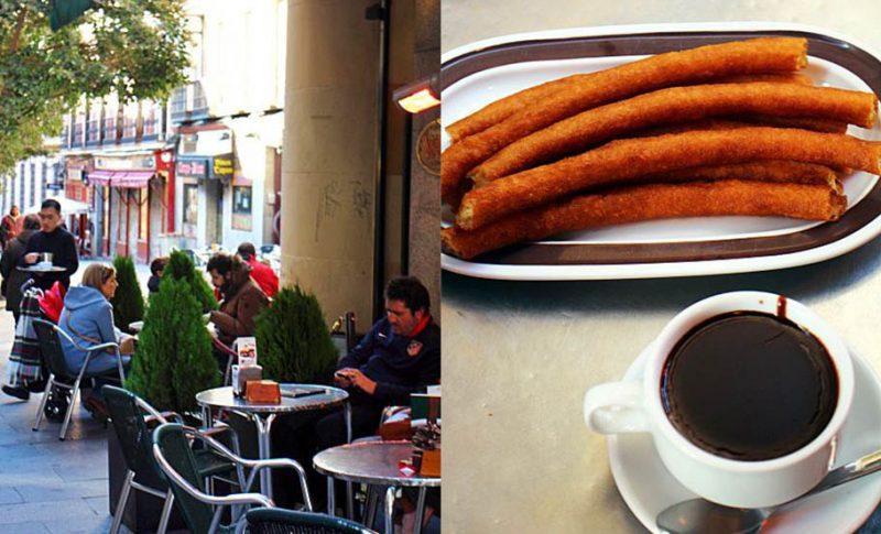 オリーブオイル大国スペインで美味しいチェロスを