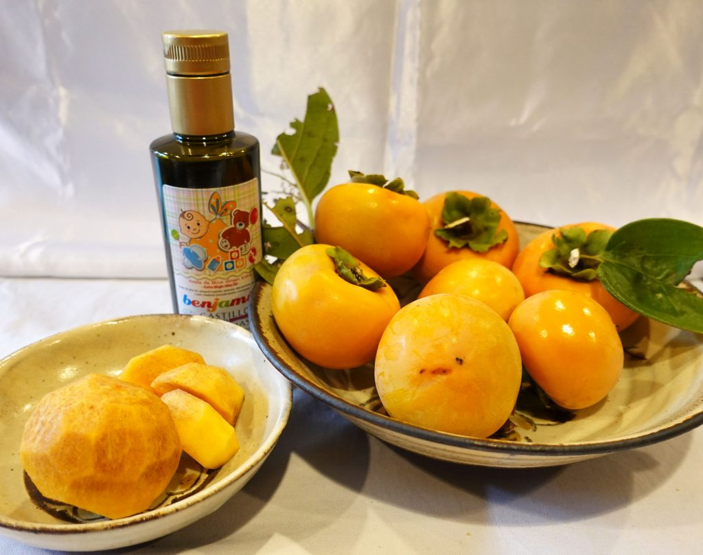 フルーツにかけるオリーブオイル カスティージョ・デ・タベルナス 酸度0.1