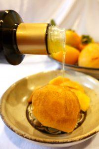 柿にエクストラバージンオリーブオイルはおすすめ カスティージョ・デ・タベルナス 酸度0.1