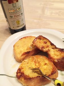 フレンチトースト オリーブオイル