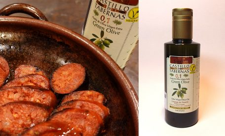 カスティージョ・デ・タベルナス0.1で美味しいお肉料理~魅惑のチョリソー出来上がり