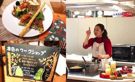 日本橋三越本店 はじまりのカフェ 長坂美奈子先生のワークショップに参加しました
