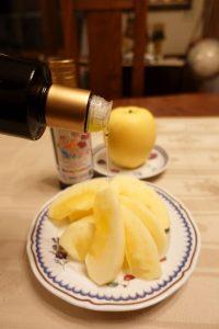 オリーブオイル りんご おいしい