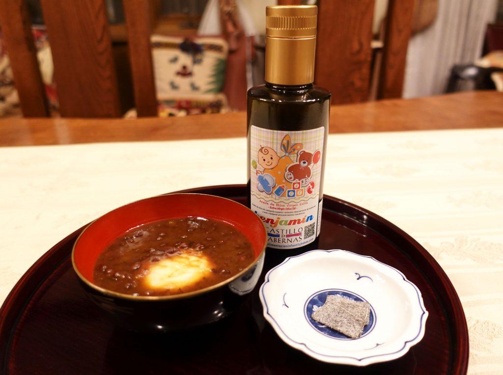 おしるこ 和菓子に合うオリーブオイル