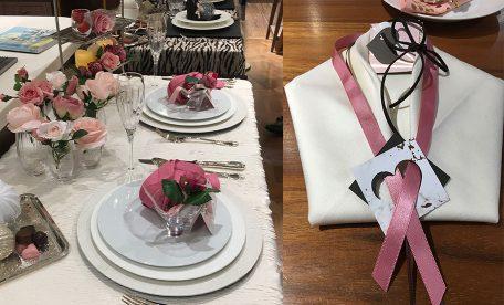 長坂美奈子先生の日本橋三越様ワークショップ『おうちでもてなすバレンタインテーブルデコレーション』に参加しました