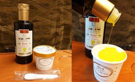 【おすすめ】エクストラバージンオリーブオイルでおいしいアイス!