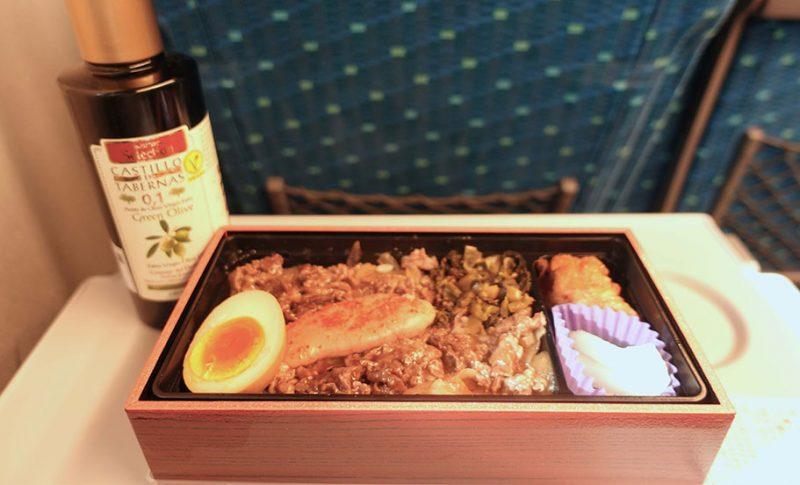 マイオリーブオイルを持って旅に出よう~駅弁にも世界最高品質のエクストラバージンオリーブオイルを。