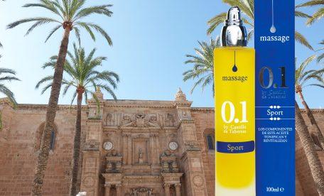 スポーツの季節に!世界最高品質のエクストラバージンオリーブオイルで創られたマッサージオイルを!