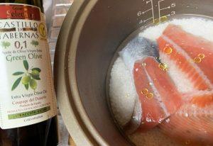 オリーブオイル 鮭ご飯 おすすめ