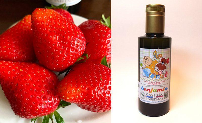 【おすすめ】真っ赤ないちごに優しいオリーブオイルを。