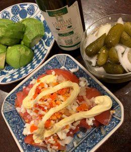 ミモザ,オリーブオイル,作り方