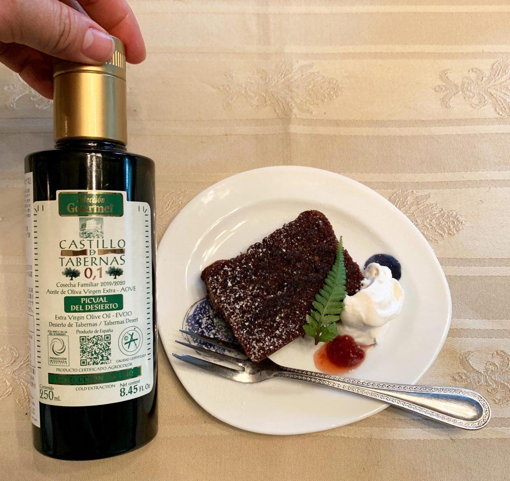 オリーブオイル,チョコレートケーキ