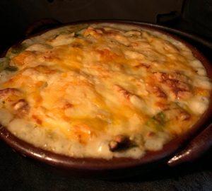 オリーブオイル,チーズ,オーブン