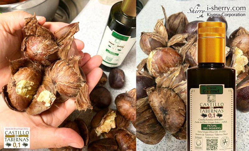 【おすすめ】オリーブオイルを使った秋の幸せ料理!栗の渋皮煮