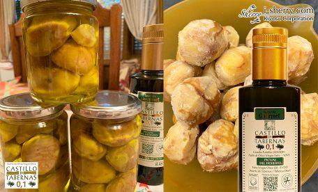 【おすすめ】季節の幸せ~むき栗のオリーブオイル漬け