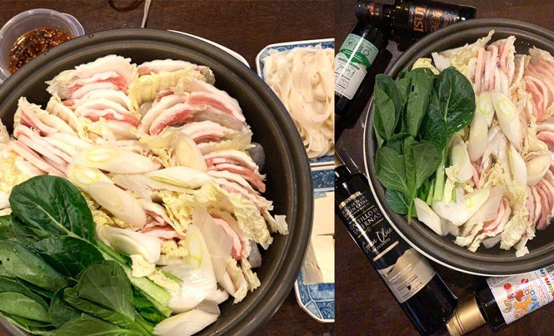 【おすすめ】寒い日はオリーブオイルで美味しい豚バラ肉鍋を