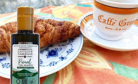 【おすすめ】美味しいクロワッサン&幸せコーヒー!オリーブオイルで素敵なひと時を。